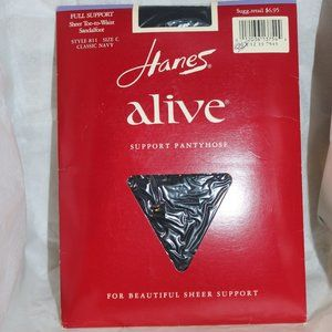 Hanes Alive full support size C Style 811 Navy
